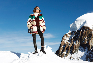 Jimmy Choo winter blogger Aimee Song