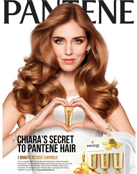 I'm super happy to be the new face of #Pantene worldwide 😊 Watch the exclusive preview of my commercial (soon on tv) now on TheBlondeSalad.com @CapelliPantene @PeloPantene #TheBlondeSaladLovesPantene #CapelliPantene #PeloPantene #TheBlondeSaladNeverStops