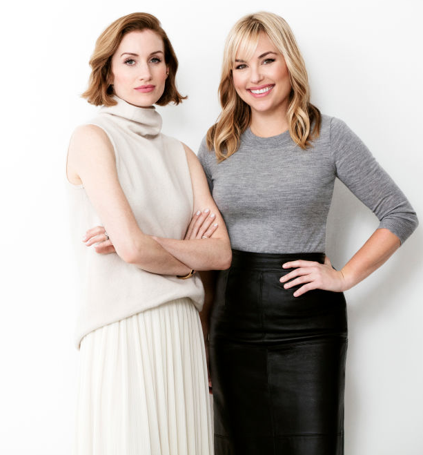 Katherine Power and Hillary Kerr. Photo: Who What Wear/Clique Media Group