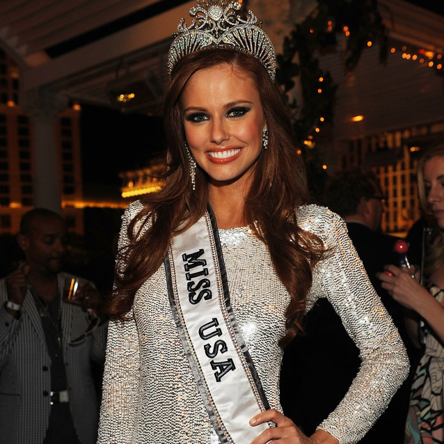 [Chateau Nightclub And Gardens Hosts Official After Party Of Miss USA] WireImage LAS VEGAS, NV - JUNE 19: Miss USA 2011 Alyssa Campanella attends the official Miss USA 2011 after party at Chateau Nightclub and Gardens at Paris Las Vegas on June 19, 2011 in Las Vegas, Nevada. (Photo by Denise Truscello/WireImage)