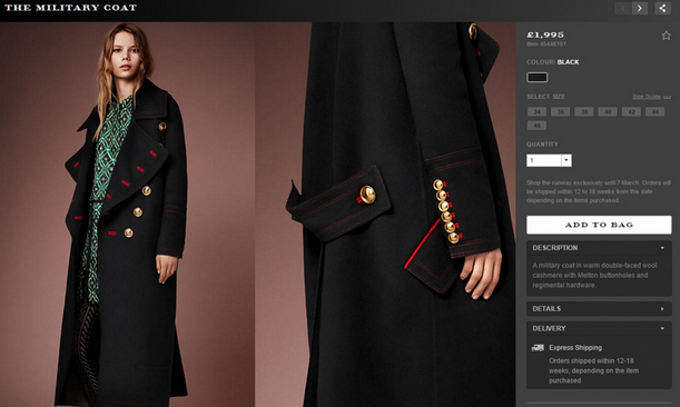 [Burberry latest collection online]