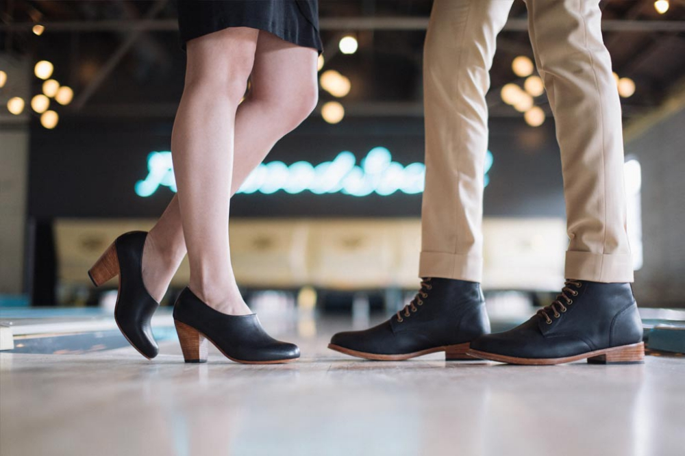 Nisolo creates leather shoes for women and men which are available to buy online and at their new showroom in Nashville. Photo courtesy of Nisolo.