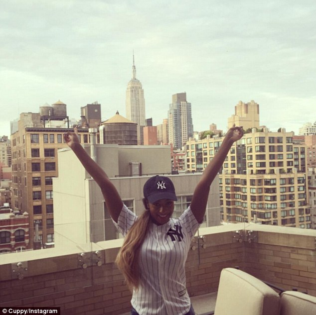 Cuppy pictured in New York. Her parents have a property there worth millions as well as lavish homes in London, Lagos, Dubai and Abuja
