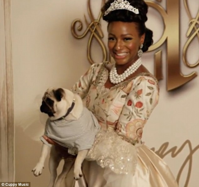 Cuppy celebrated her recent graduation with a lavish Marie Antionette themed bash. She loves the French queen as they have both had 'responsibilities at a young age'