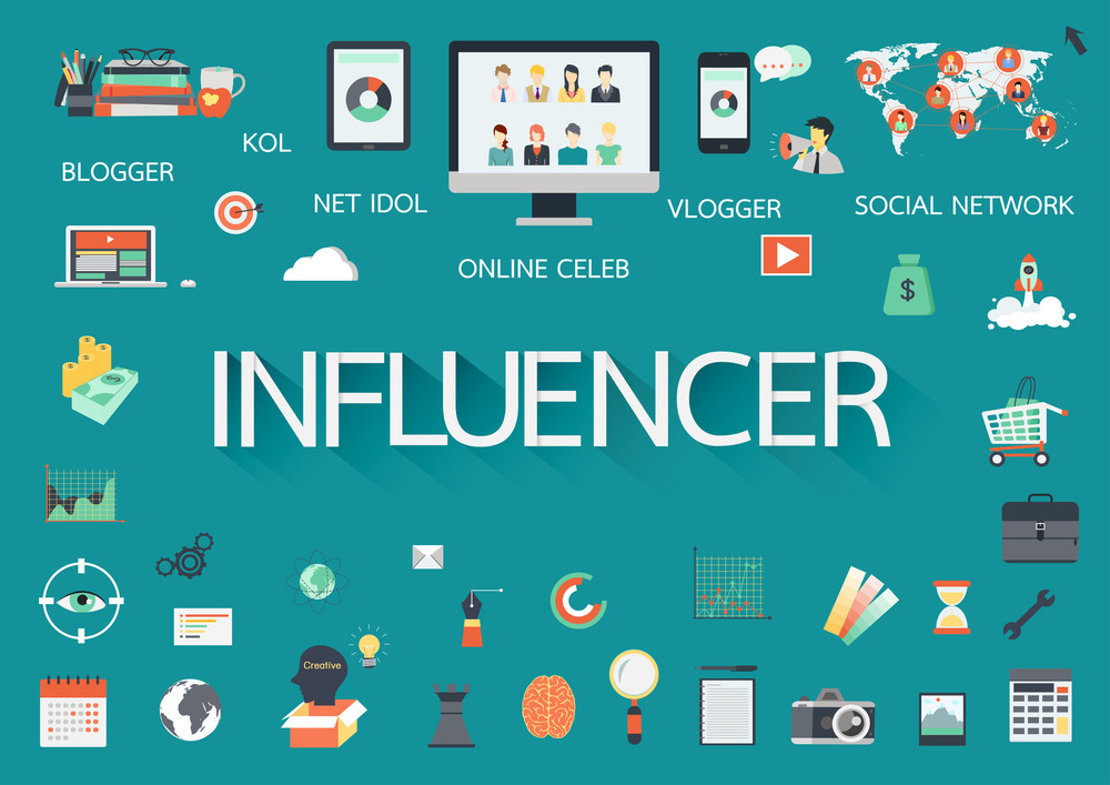 "The blogger has been fine-tuned and re-emerged as the fast-talking, instant-posting social media ""Influencer."" (Shutterstock)"