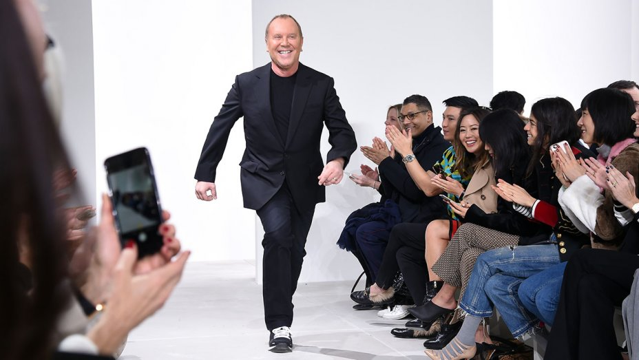 Michael Kors on the runway of his fall 2016 show Nicholas Hunt/Getty Images For Michael Kors