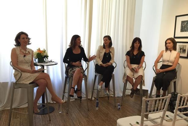 Left to right: Alyssa Garnick, Caryn Neary, Liza Kindred, Lorraine Sanders, Hilary Milnes