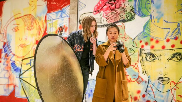 Writer, stylist, photographer and creative director Margaret Zhang is collaborating with Eastland shopping centre on a coffee-table book. Photo: Wayne Taylor