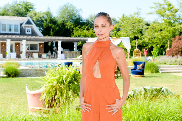 Nicole Richie at the House of Harlow x Revolve party. Photo: Revolve