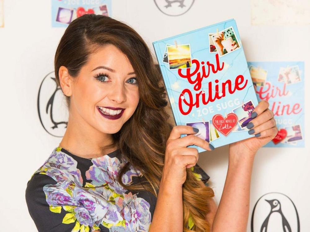 Vlogger Zoella has over 10 million subscribers to her YouTube channel PA