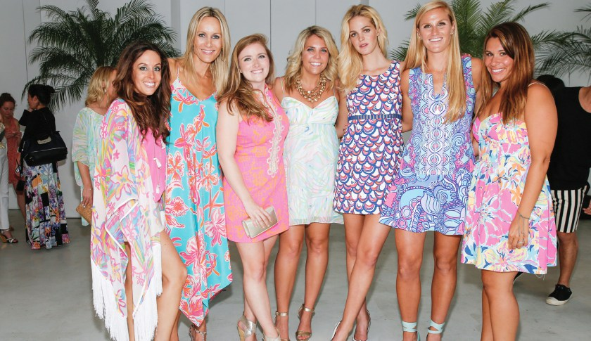 Lilly Pulitzer Resort 2016 Presentation at The Sky Room at The New Museum on June 11, 2015 in New York City.JP Yim — Getty Images