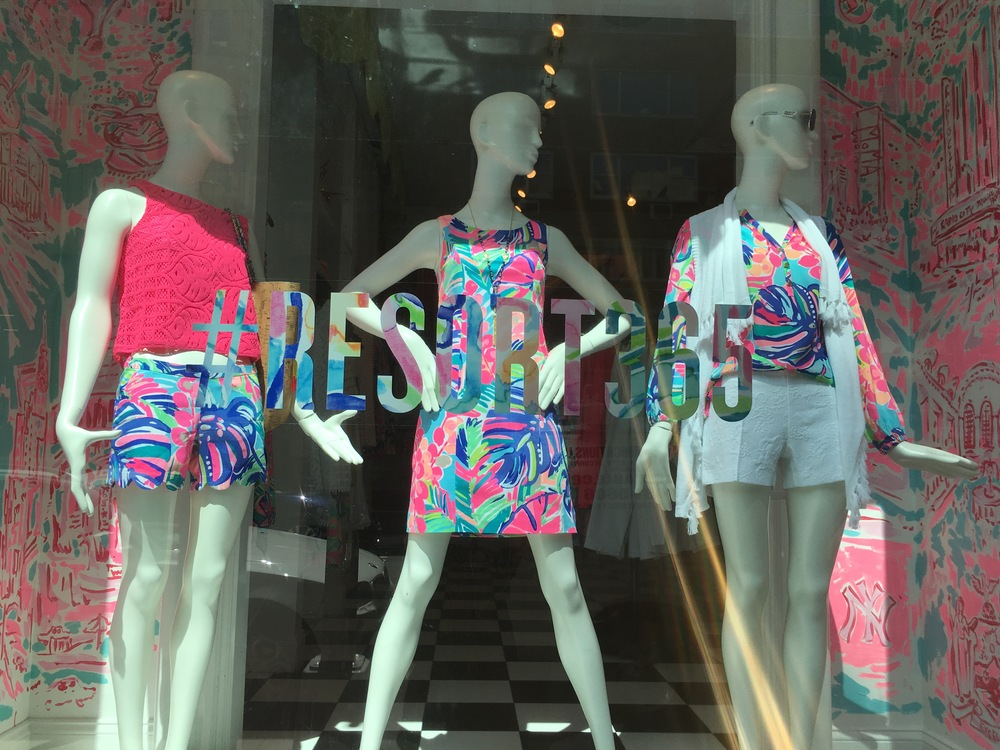 Lilly Pulitzer's New York City location