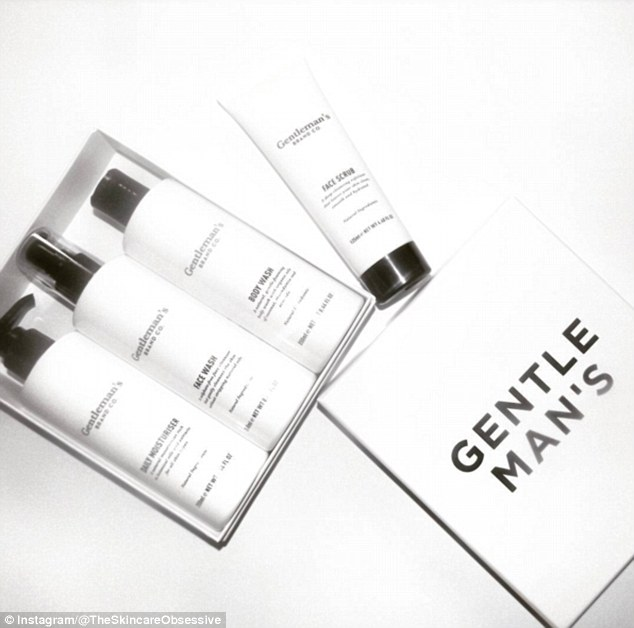 Skin savvy: The Skincare Obsessive's Instagram page is full of photos of products for men