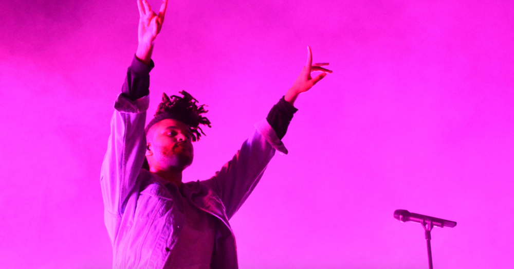 The Weeknd at 2015's Sweetlife Festival