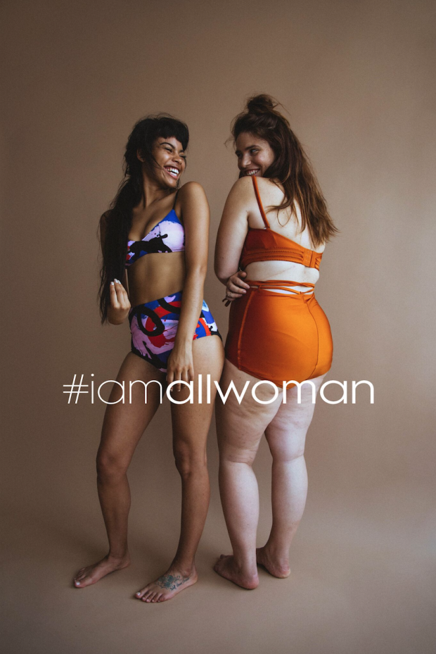 LEAF AND CLEM FLAUNTING X SLAYING; IMAGE: COURTESY OF HEATHER HAZZAN AND LILY CUMMINGS/ALL WOMAN PROJECT