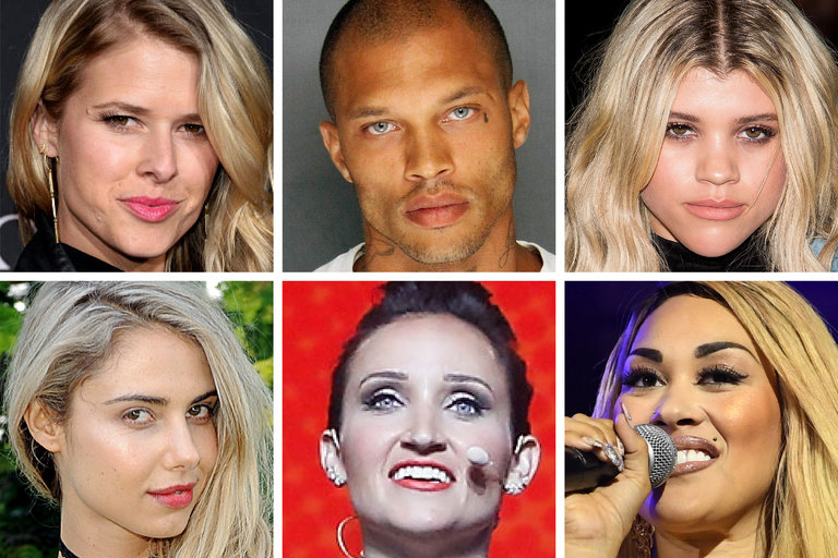 Top row, from left, Sarah Wright Olsen, Jeremy Meeks and Sofia Richie; bottom row, from left, Sahara Ray, Mindy McKnight and Keke Wyatt. As the gossip machine continues defining fame downward, a striving celebrity underclass has risen to dominate it.CreditTop row, from left, Matt Winkelmeyer/Getty Images; Stockton Police Department; Michael Stewart/Getty Images; bottom row, from left, Matthew Eisman/Getty Images; Taylor Hill/FilmMagic, via Getty Images; Paras; Griffin/Getty Images.