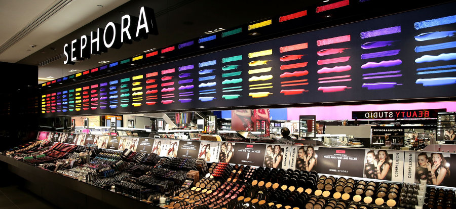 GETTY IMAGES The First Australian Sephora store in Westfield Pitt Street Mall, Sydney.