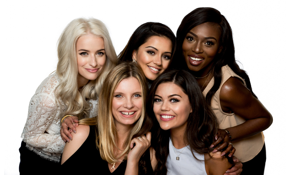 Pictured: L'Oréal's 'beauty squad', which consists of five UK beauty bloggers.