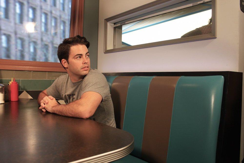 YouTuber Joey Ahern in a YouTube studio.Leanna Garfield/Business Insider