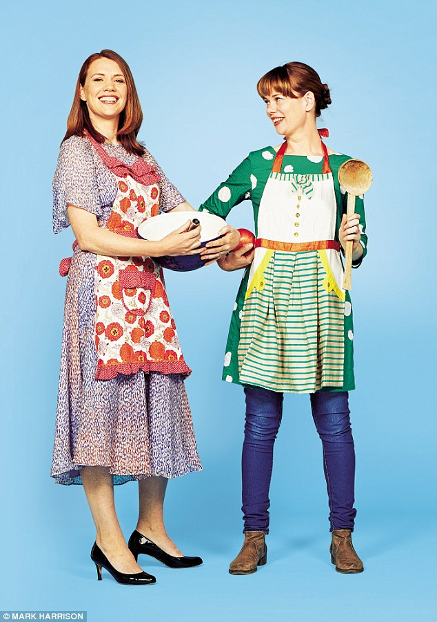 Claire (left) and Lucy McDonald, the sisters behind Crumbs