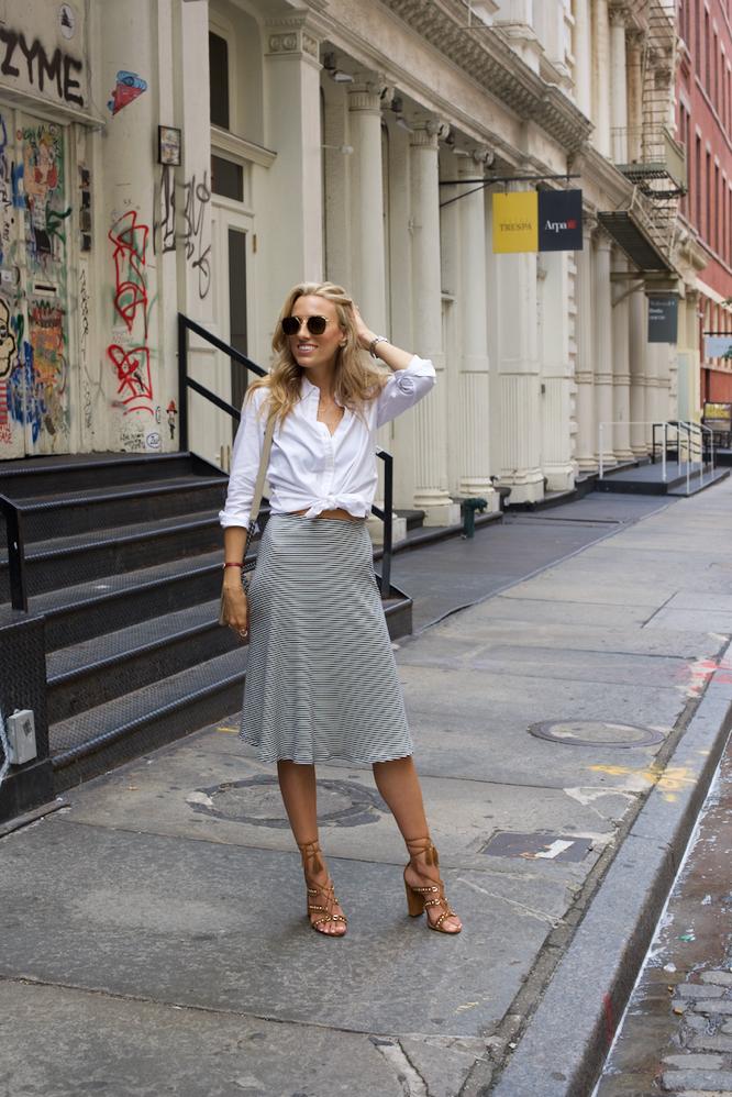 Soho-StreetStyle-Striped-Skirt-Gap-Oxford-Shirt-Aquazzura-Sandals-6-of-10.jpg