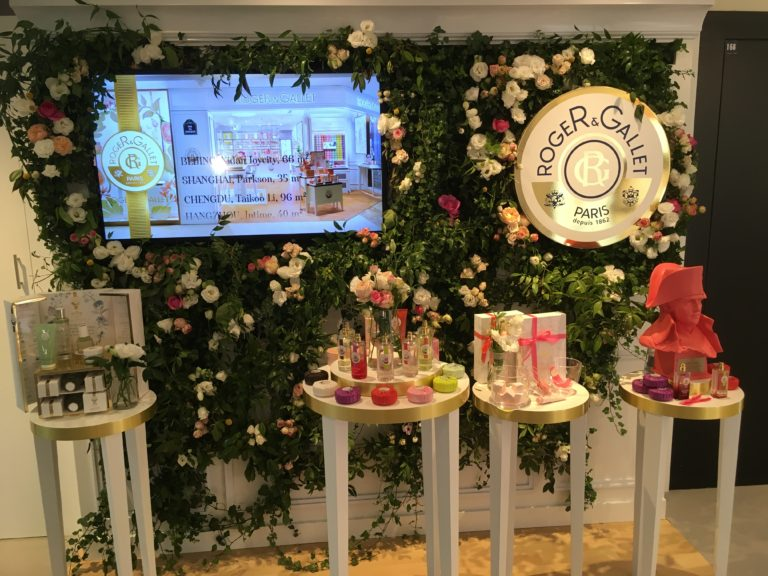 The French perfume house Roger & Gallet, founded in 1862, now has eight boutiques across China