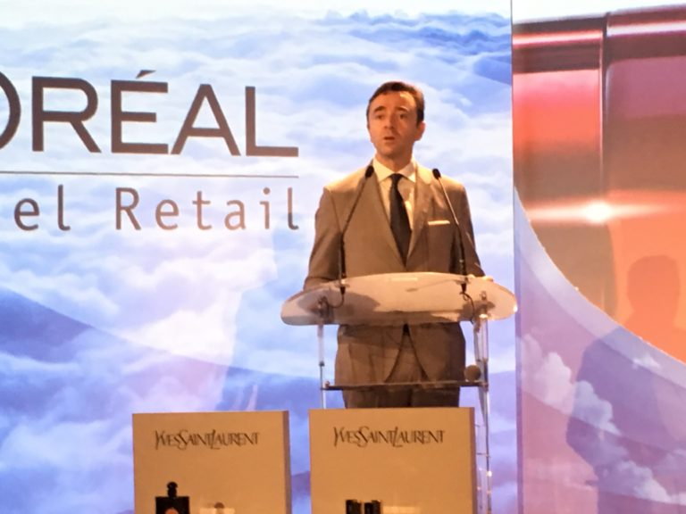 Piermarco Luzzatto-Giuliani Managing Director L'Oréal Travel Retail Active Cosmetics and Professional Products explained that consumers are seeking more exciting innovations across all markets