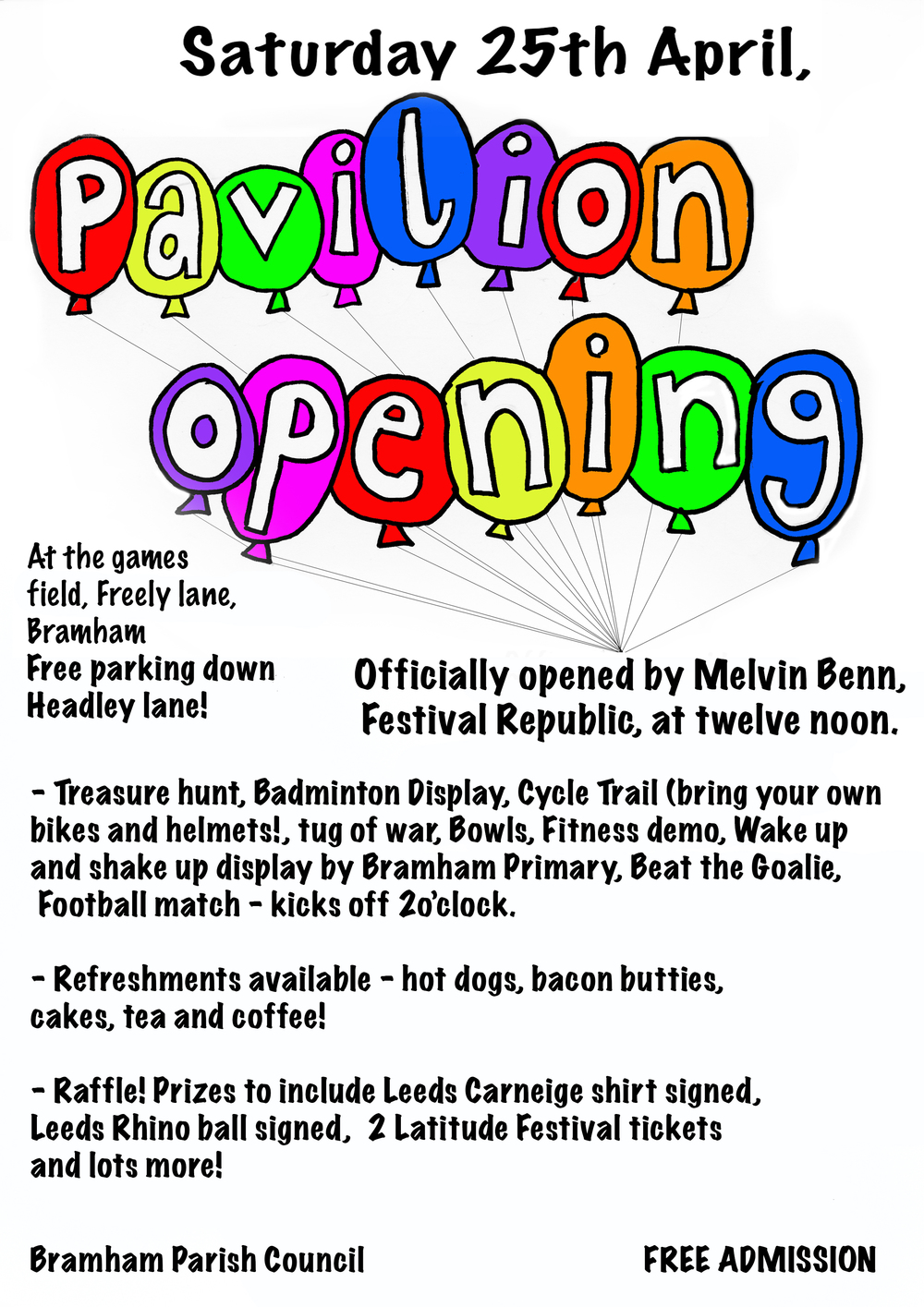 pavilion opening