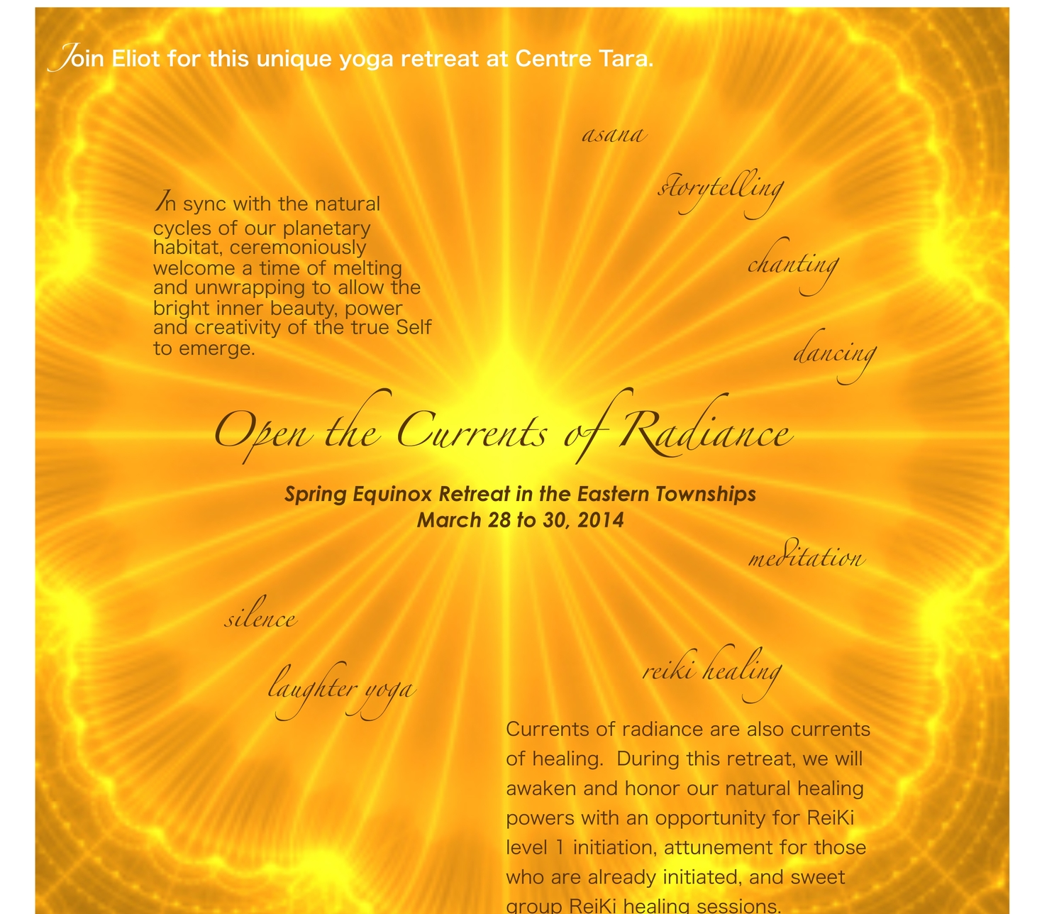 Equinox Retreat in the Eastern Townships — Centre Yoga Aylmer