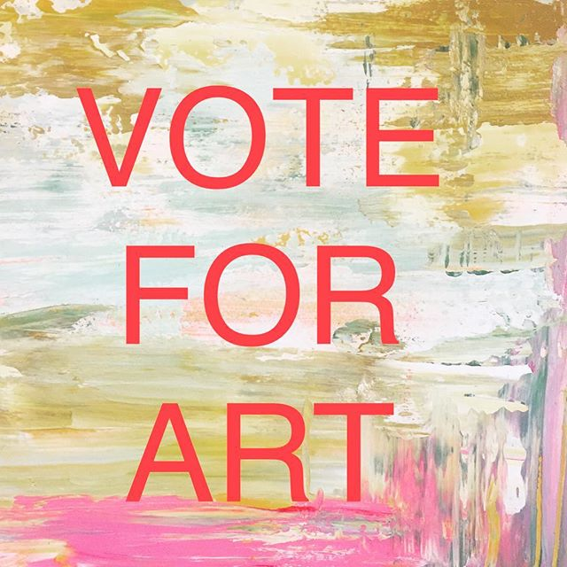 Today is the day Tofino!  #tofinovotes #art #artandpolitics #tofinoart #voteforart #artforeveryone