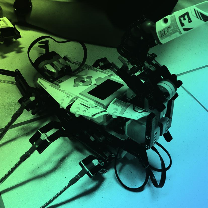 Lego MindStorms:Imagine, monte, faça funcionar! Na oficina de Lego Mindstorms seus robôs não terão limites.
