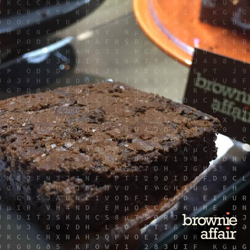 Copy of Brownie Affair