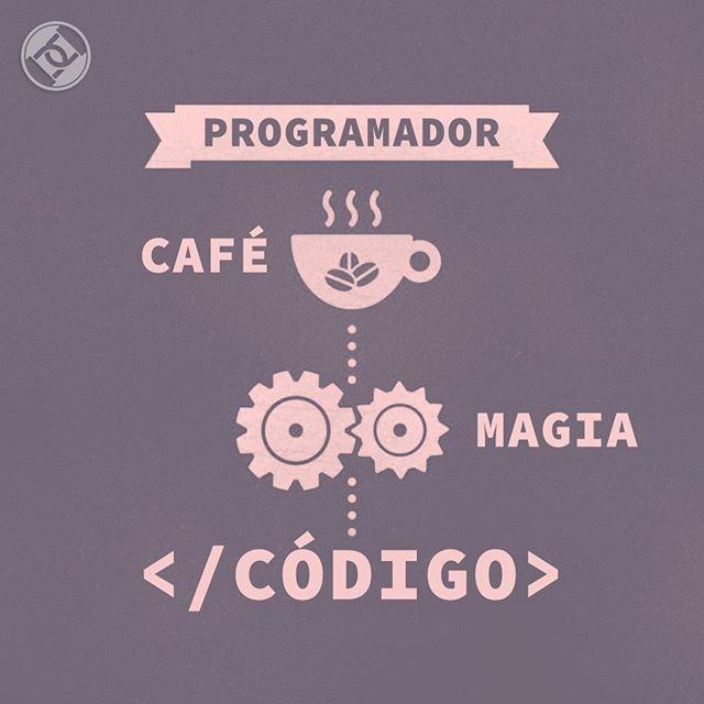 Para começar bem essa semana siga as instruções para uma dose de magia #Magic #Coffee #Café #Roadsec #DontStopHacking