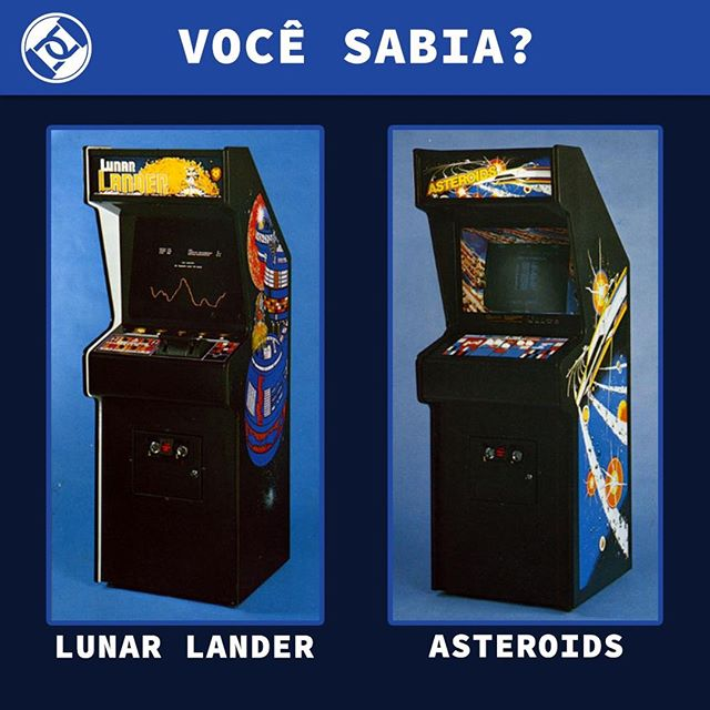 Há 38 anos atrás, os dois primeiros jogos da história eram registrados no Departamento de Propriedade Intelectual dos EUA. Consegue adivinhar quais são? #Copyright #Roadsec #DontStopHacking #LunarLand #Asteroid #RetroGaming #Gaming #Gamer
