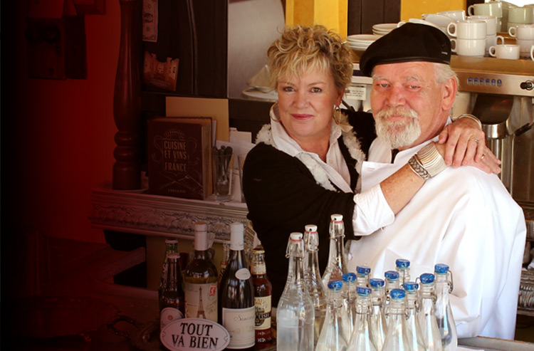 Linda & Chef Claus Hjortkjaer