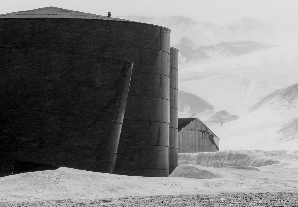 Oil Tanks #1 - DECEPTION ISLAND