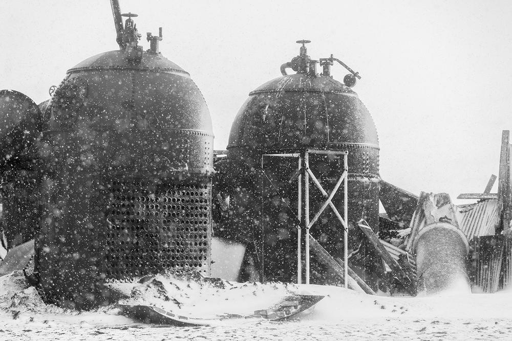 Boiler Tanks #1 - DECEPTION ISLAND