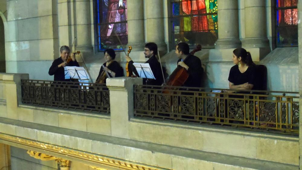 Cuarteto de cuerdas y soprano