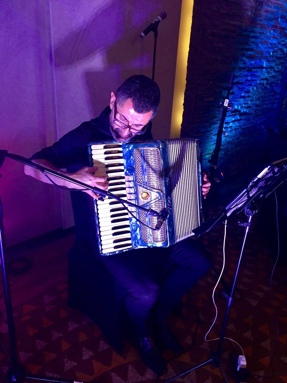 acordeón acordeonista eventos música