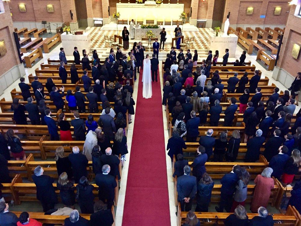 coro matrimonio iglesia