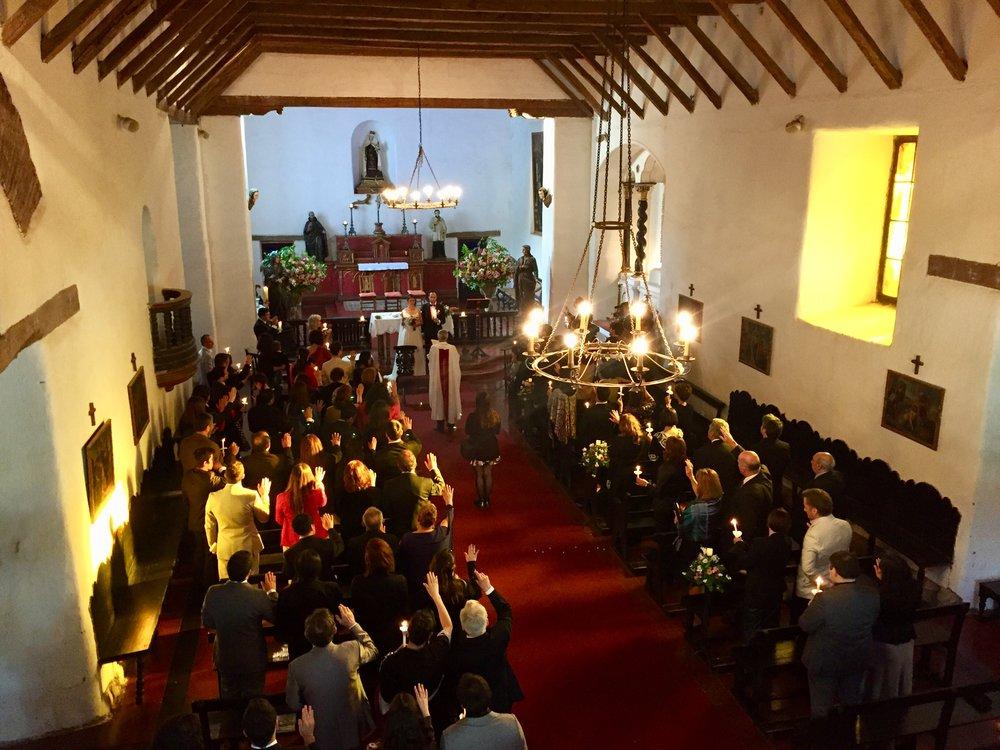 calera de tango iglesia jesuita coro