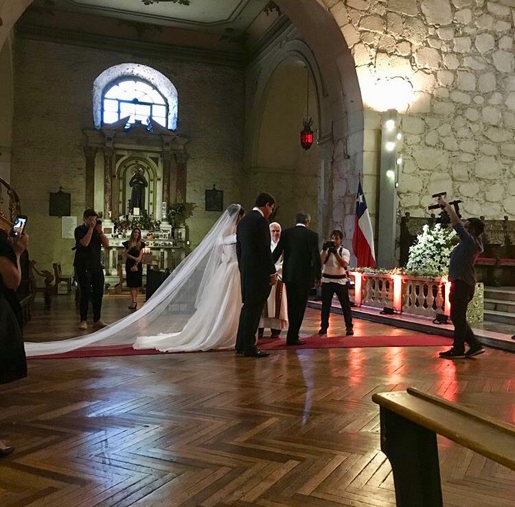 coro iglesia novia matrimonio