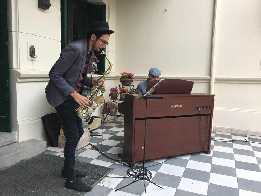 saxo piano coctel eventos matrimonio