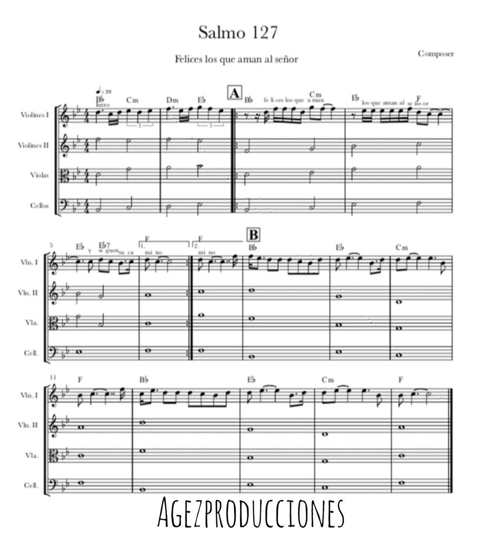 partitura salmo gratis
