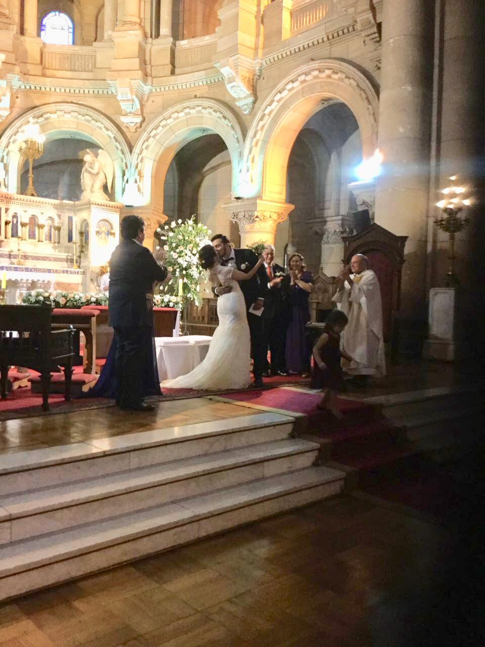 Iglesia de los sacramentinos, santigo de chile. Coro para matrimonios