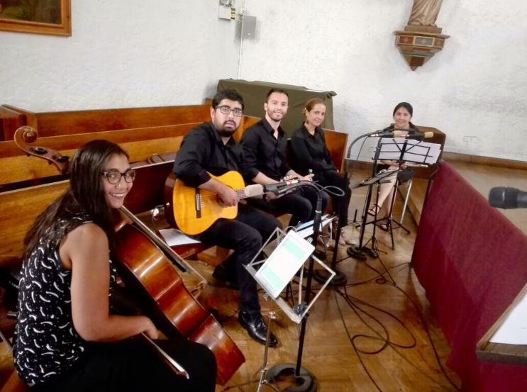 coro liturgico matrimonios iglesia chile