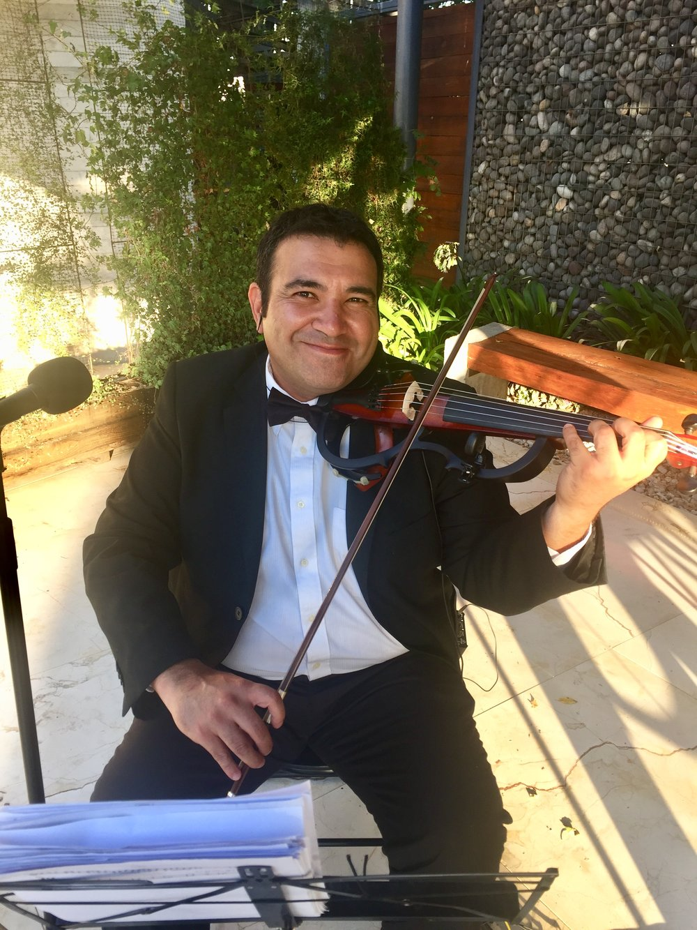 violin electrico violinista electroclásicos chile string quartet