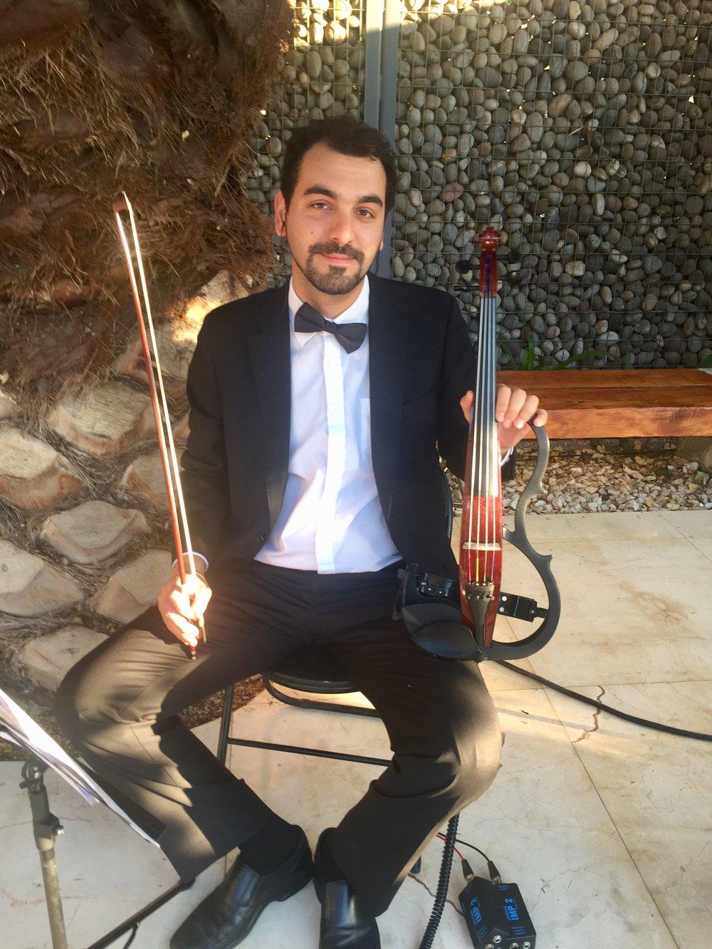 cuarteto de cuerdas electrico electroclásicos musicos para eventos chile yamaha silent