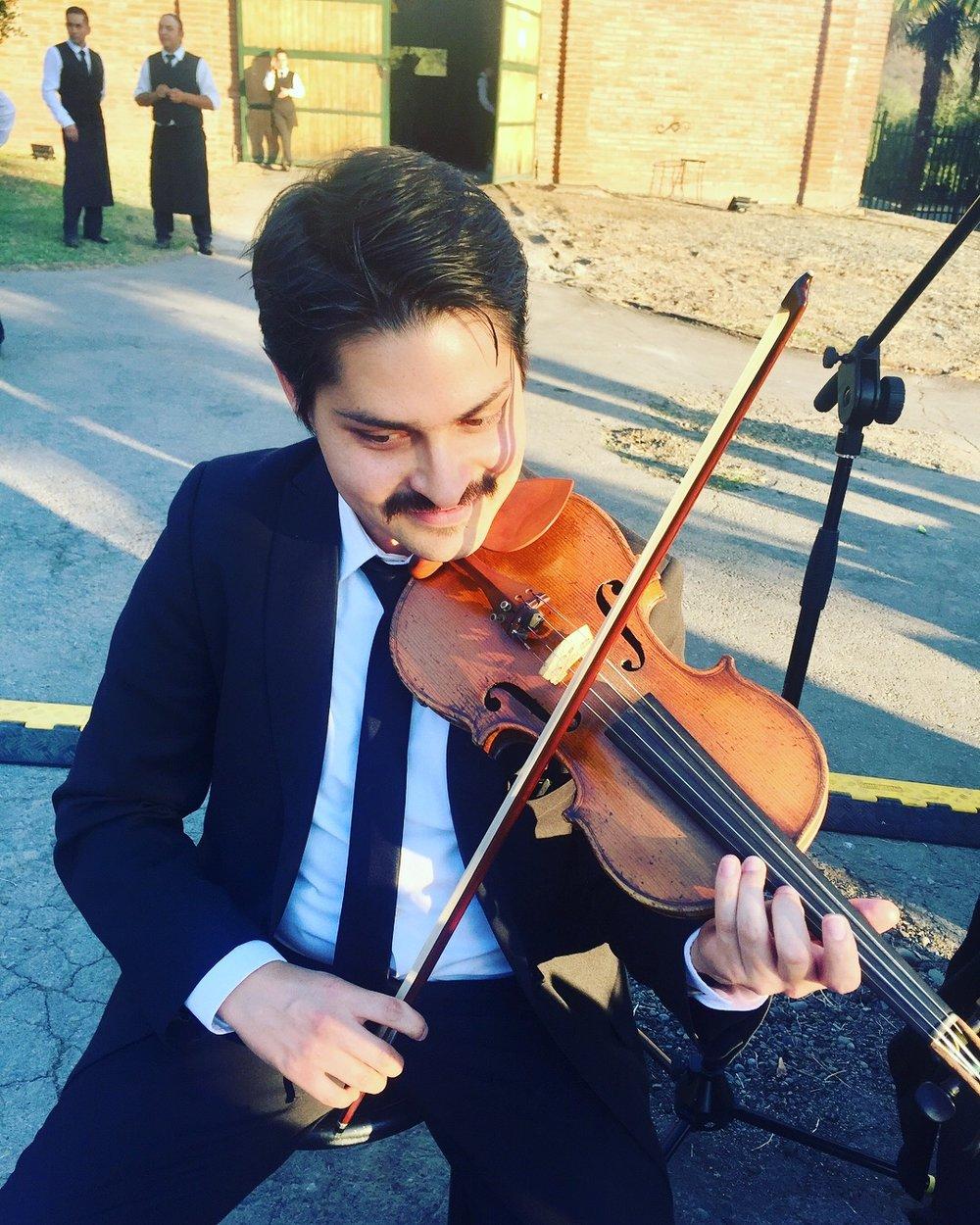 Musicos para eventos cuarteto de cuerdas chile violin