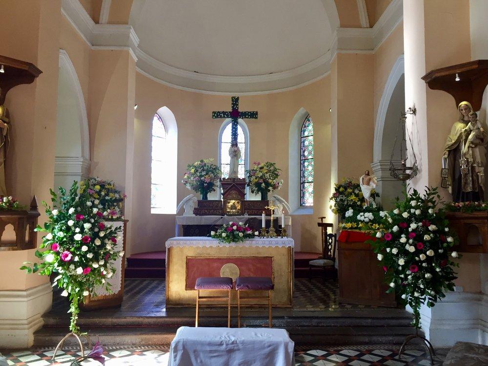 Iglesia Santisimo sacramento de Pirque coro matrimonio